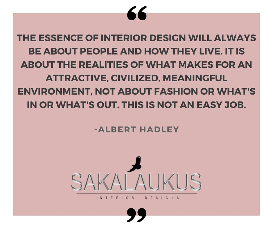 The essence of interior design will always be about people