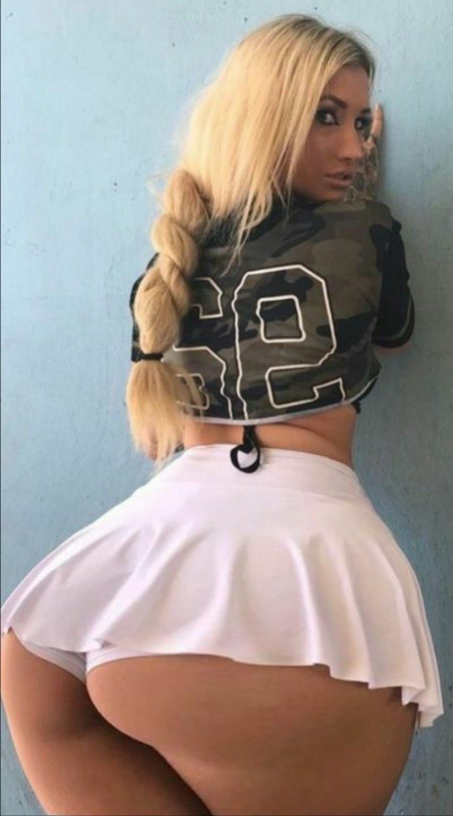 The Backward  Says Where Her Mind Is At Not Every Woman Can Successfully Pull Off Wearing A Miniskirt