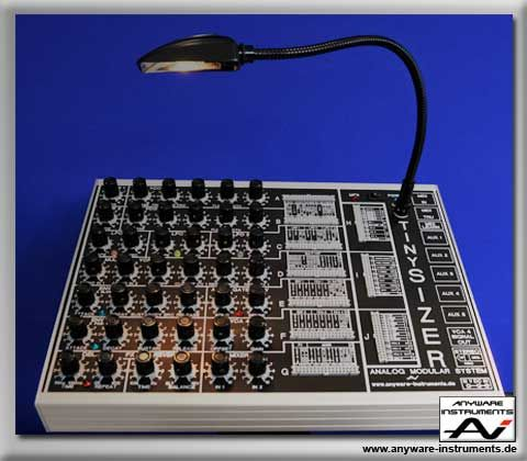 smallest modular synth #music   tiny sizer   Instruments