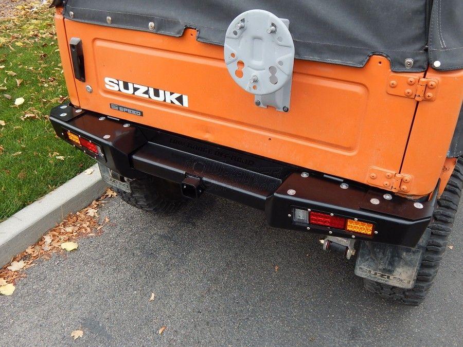 Suzuki Samurai Defiant Armor Rear Bumper By Low Range Off Road Srb