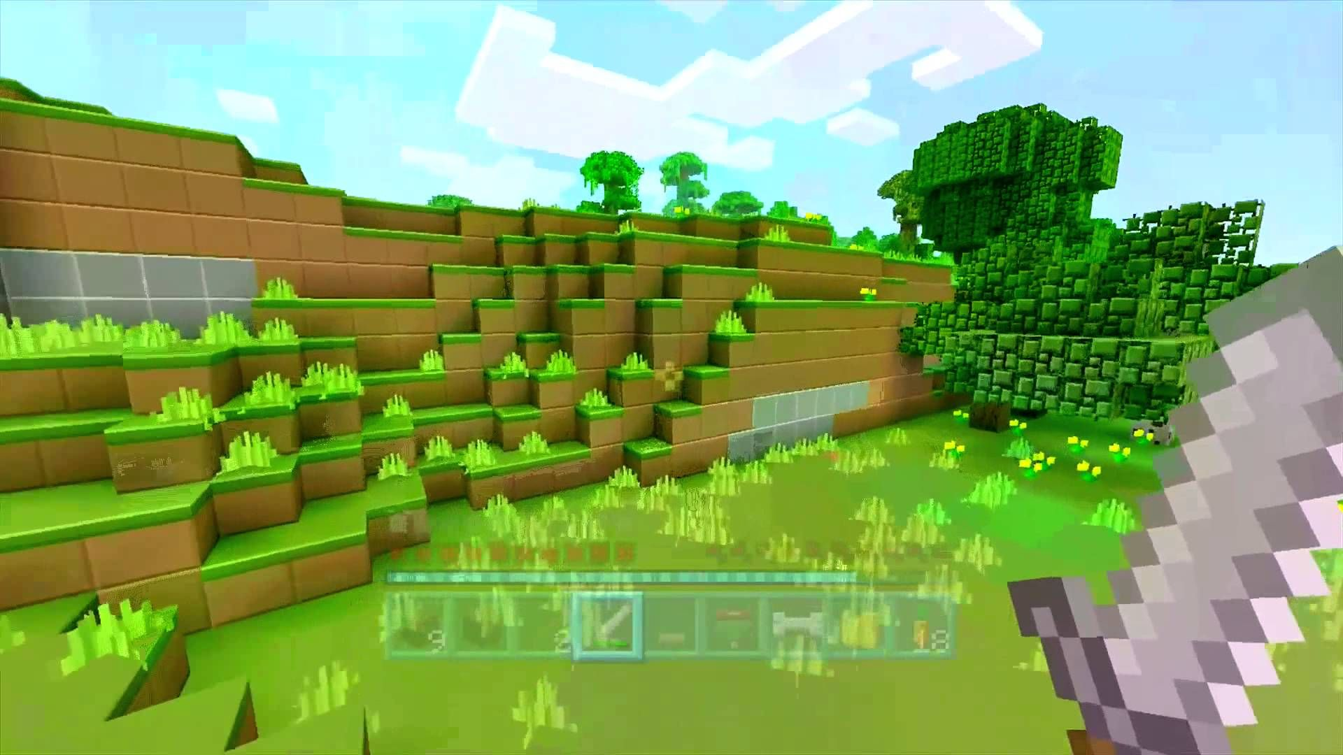 minecraft xbox : together challenge (part 2) - minecraft