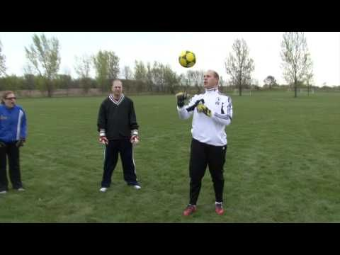 Soccer Goalkeeper high catches pushes and punches Part 2 Soccer Drills 0c1bbe1258