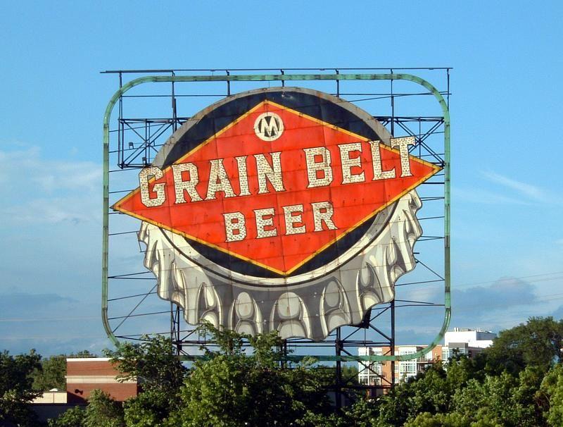 Grain Belt Beer | Beer signs, Roadside attractions, Minneapolis