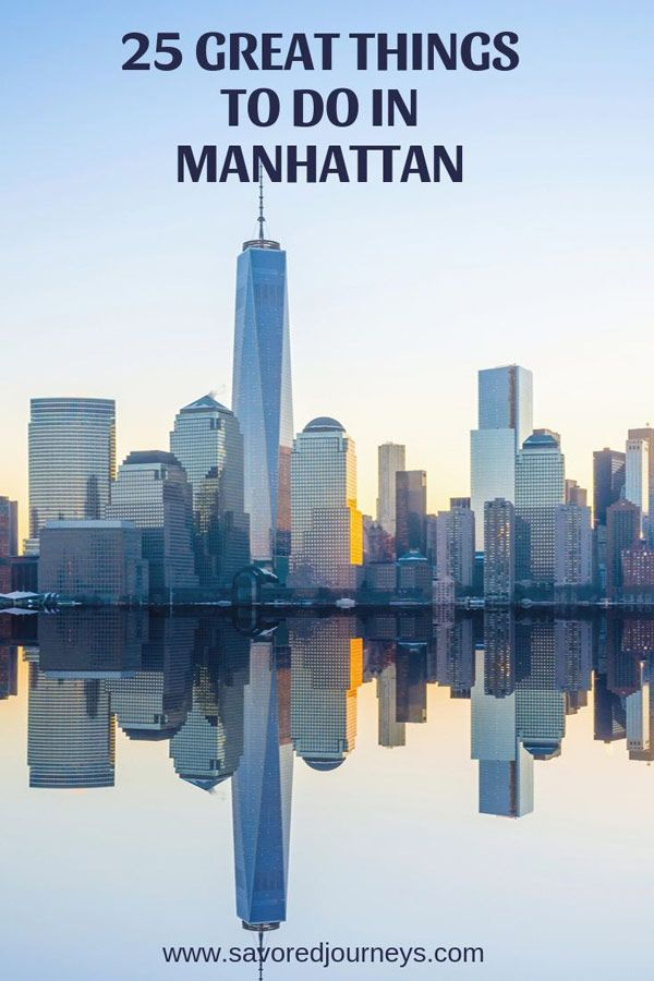 Top 25 Touristy Things to Do in Manhattan