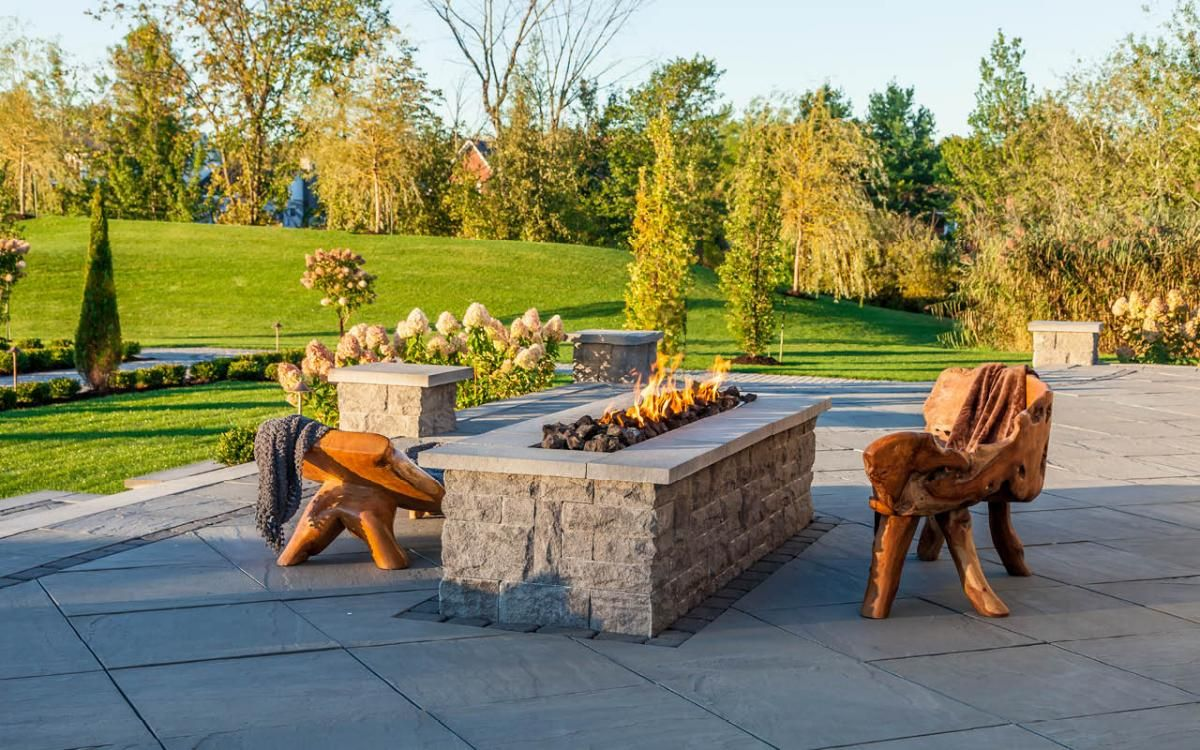 Great Outdoor Projects Using Techo-Bloc | Landscaping | Pinterest ...