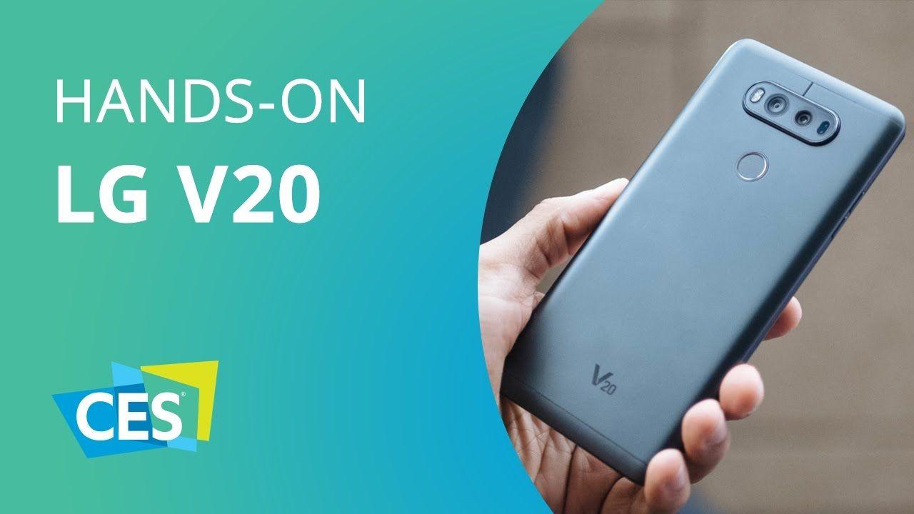 LG V20 [Hands-on - CES 2017]