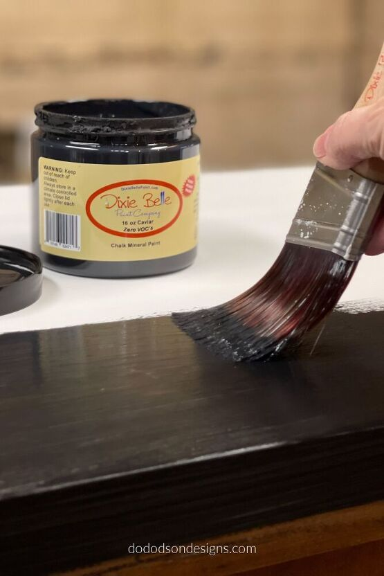 How To Paint Over Laminate Furniture – With Chalk