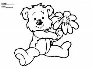 How Cute Is This Free Coloring Page Be Sure To Give A Like