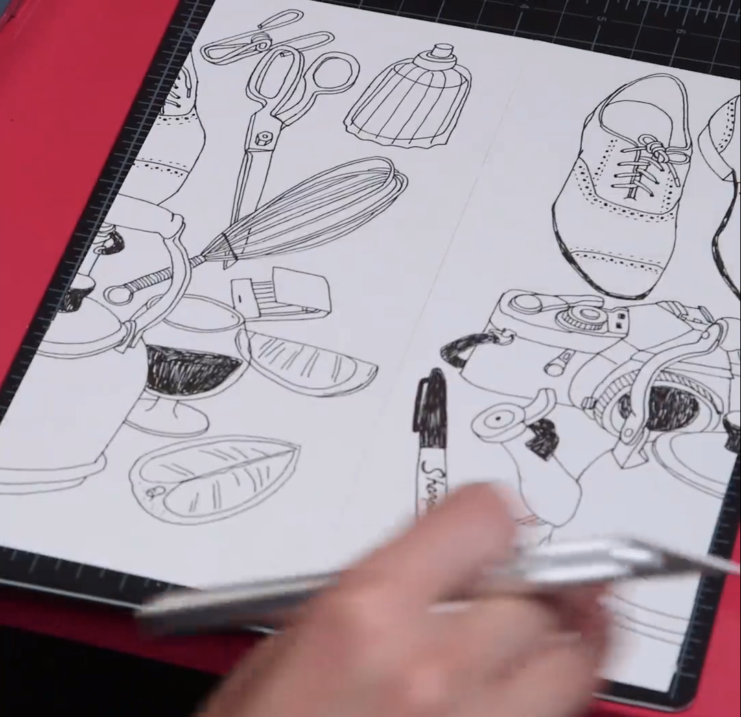 5 Steps To Illustrating A Repeat Pattern By Hand Free