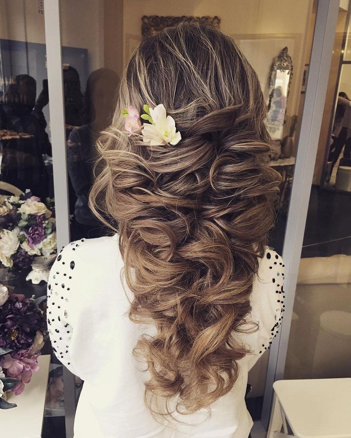 Wedding hairstyles for long hair : Loose