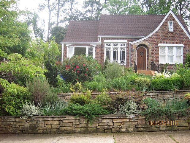 pictures of terraced yards | Pretty Old Houses: Terraced ... on Terraced Front Yard Ideas id=27496