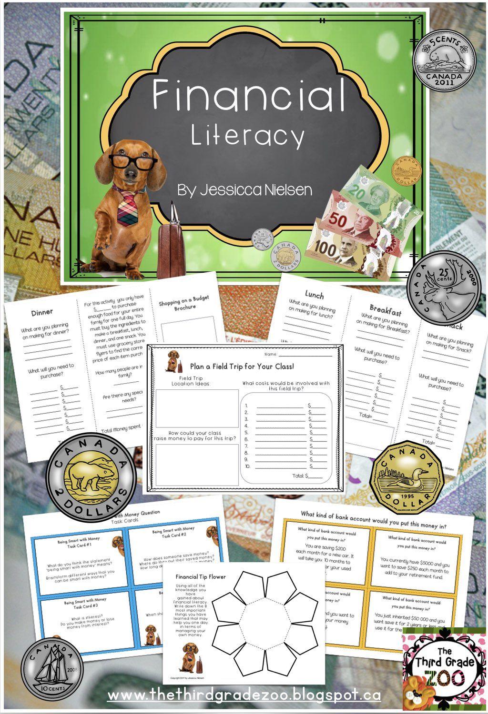 Financial Literacy Real life math, Math lesson plans, Financial literacy