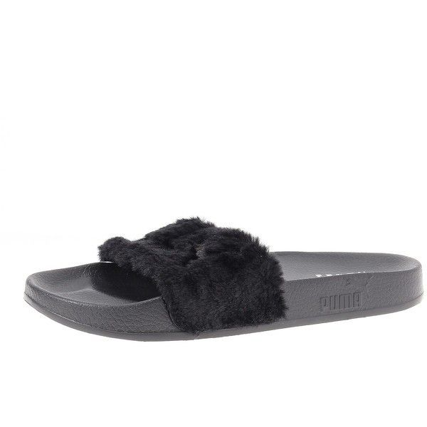 4b2bc835efdc Puma Fur Slide by FENTY Women s Sandals ( 80) ❤ liked on Polyvore featuring  shoes