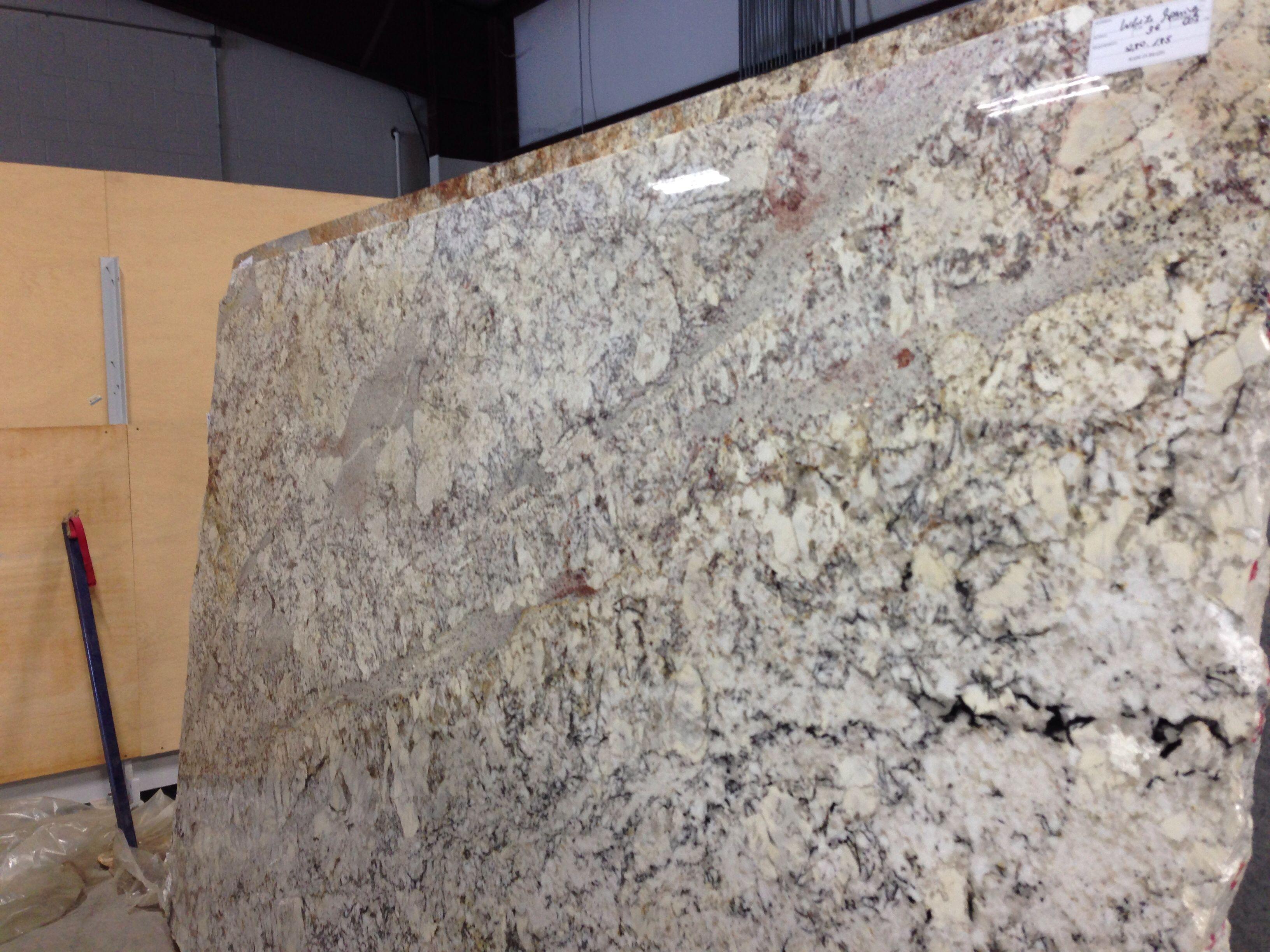 White Springs Granite Slab For The Home Kitchen