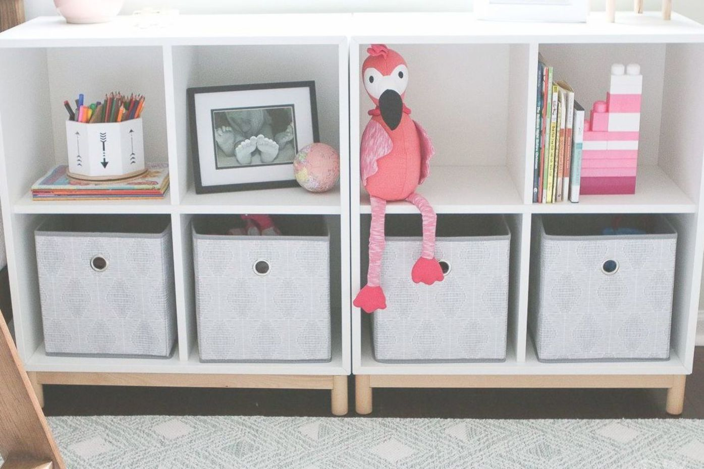 Use Storage Cubbies To Corral Toys And Clutter In A Kids Room Storage Kids Room Living Room Toy Storage Cubby Storage