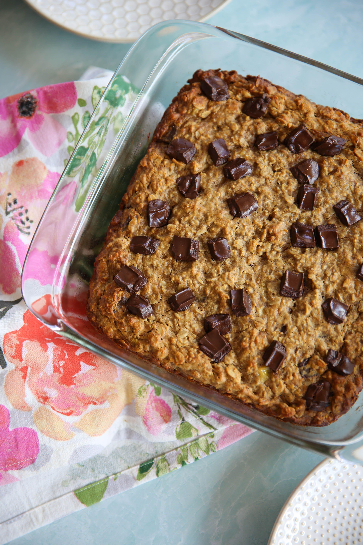 Chocolate chip oat bars paleomg recipe in 2020 oat