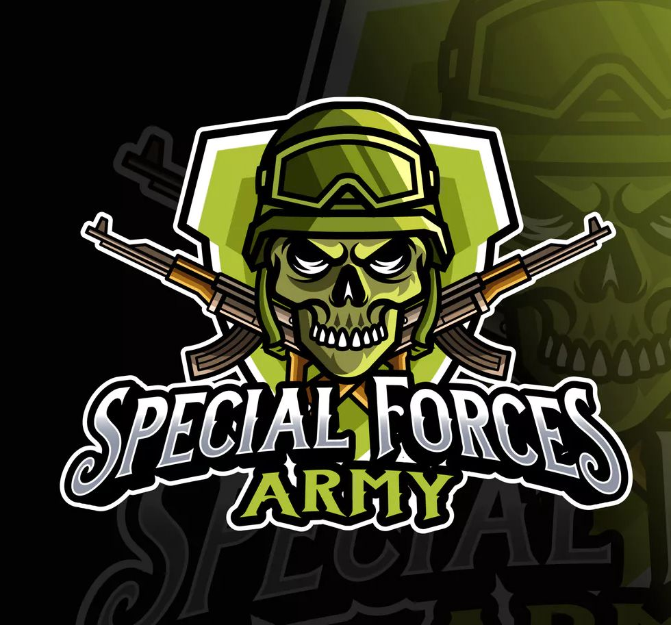 Special Forces Army Logo Template Ai Eps Special Forces Special Forces Logo Special Forces Army