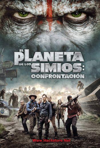 Planeta De Los Simios Confrontacion Blu Ray Rip Hd Latino Planeta De Los Simios Creed Pelicula Carteles De Cine