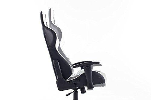 Robas lund sw dx racer chaise de gaming fauteuil de bureau
