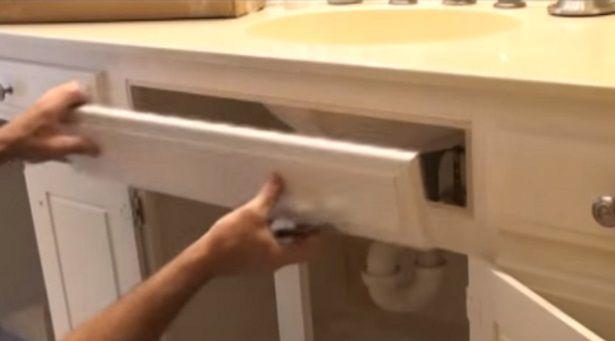 Fake Drawer Under Kitchen Sink