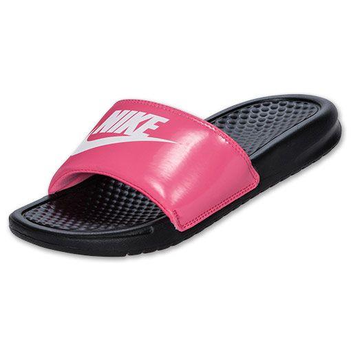 $21.99 size 7 Girls' Gradeschool Nike Benassi Slide Sandals | FinishLine.com  | Dynamic