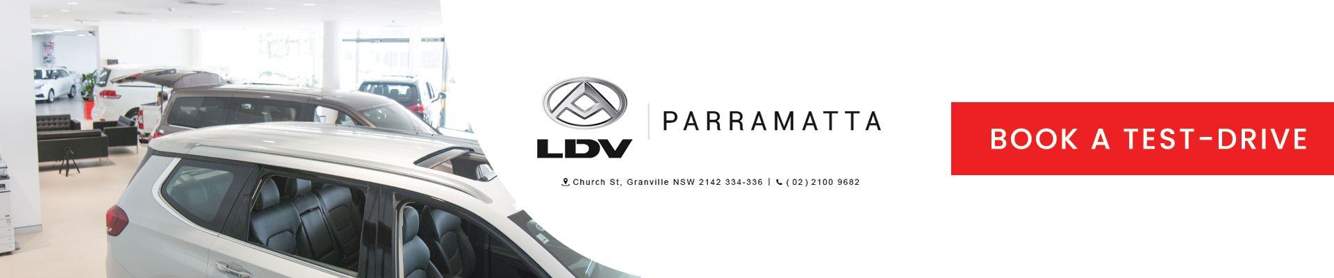LDV Deliver 9 LDV Parramatta