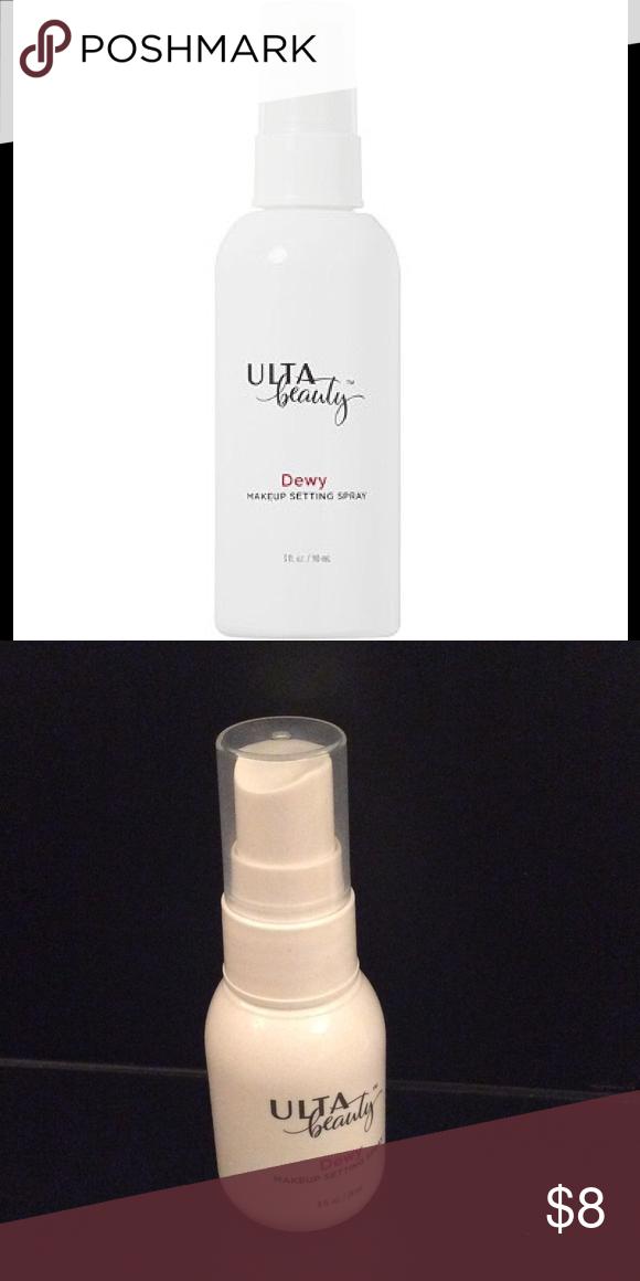 New Ulta Beauty Makeup Setting Spray New travel Size 24ml