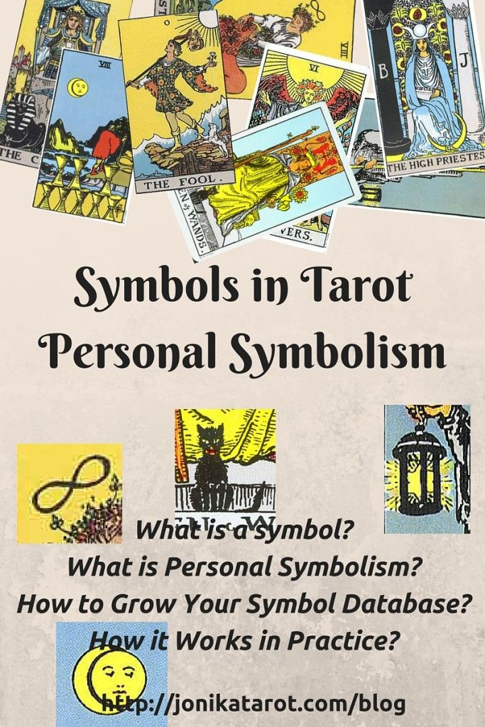 Tarot Symbols And The O Jays On Pinterest: Symbols In Tarot _ Personal Symbolism