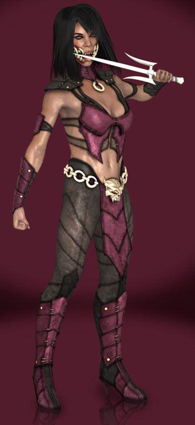 Mortal Kombat X Cosplay Mileena Cosplay Costume Version 01