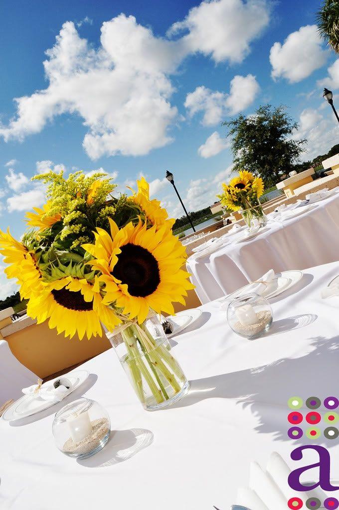 Sposata! Casamentos Inspirações para a decoraç u00e3o com girassóis sunset girassol Pinterest