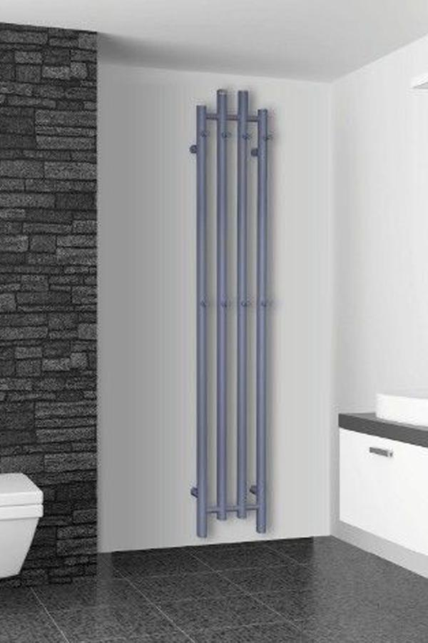 Grzejnik Lazienkowy W Kolorze Do Wyboru Z Palety Ral 162x29 Cm Radeco Tubo 1 Kolor Basic Shower Curtain Shower Curtain Shower