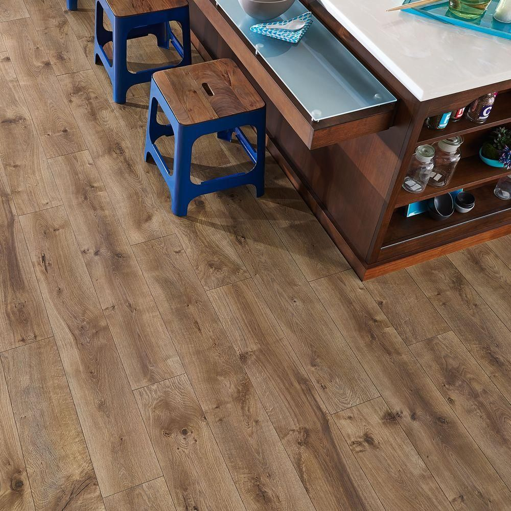 Pergo XP Riverbend Oak 10 Mm Thick X 7 1/2 In. Wide