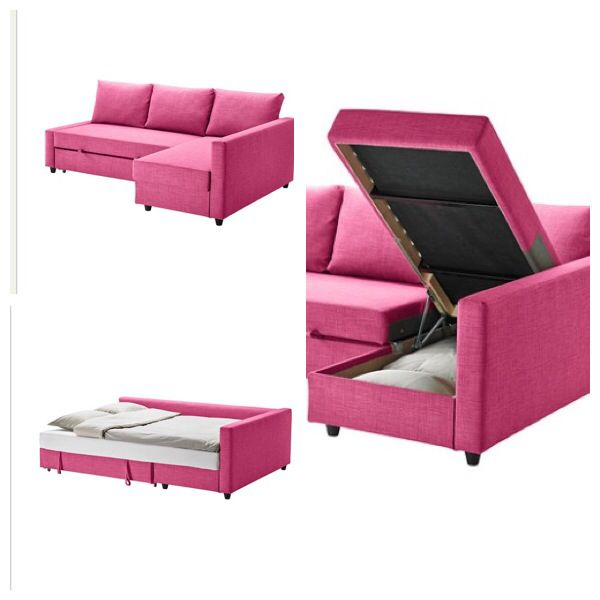 ikea pink couchbed bed couch playroom pinterest the o 39 jays beds and bed couch. Black Bedroom Furniture Sets. Home Design Ideas