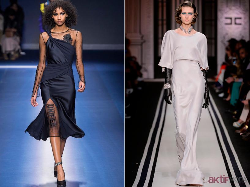 Saten Elbise Modelleri 2020 Saten Elbise Kombinleri Moda Stilleri Elbise Modelleri Trend Elbiseler