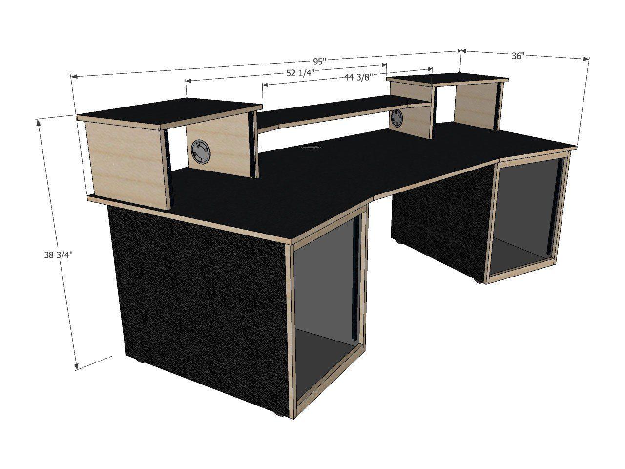 scs digistation recording studio desks in 2019 podcasting studio recording studio desk. Black Bedroom Furniture Sets. Home Design Ideas