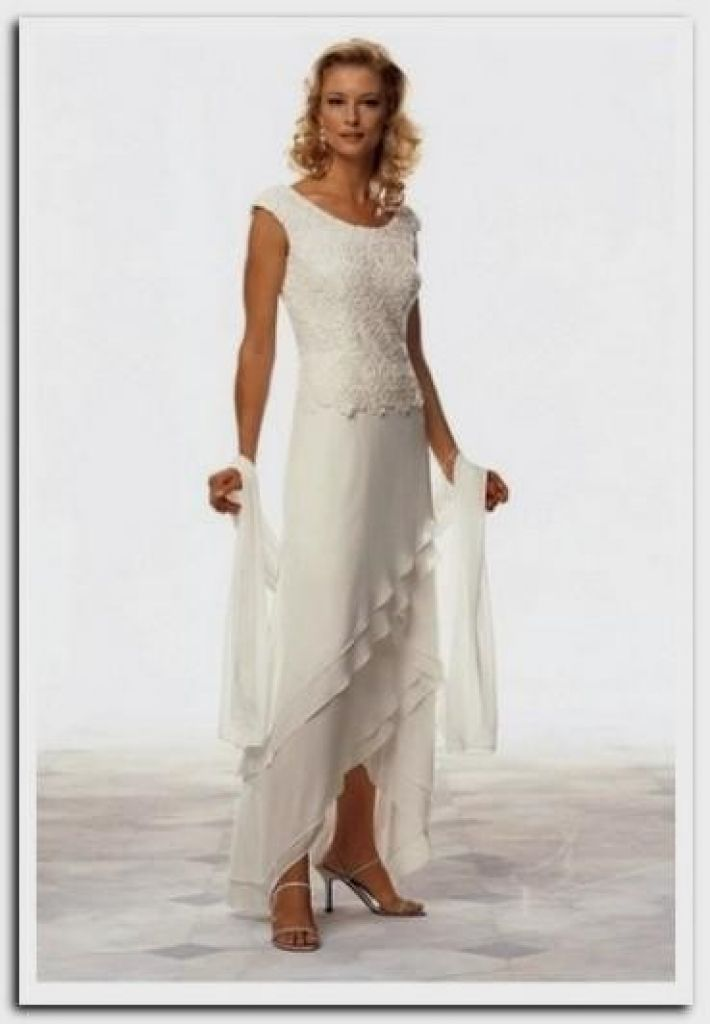 Awesome Wedding Dresses Older Brides Intended For Your Home Best ...