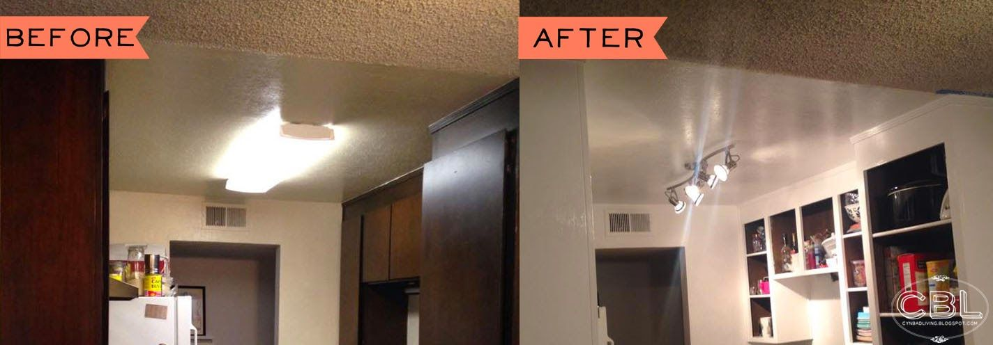 Cynbad Living Kitchen Makeover Lighting Fixtures