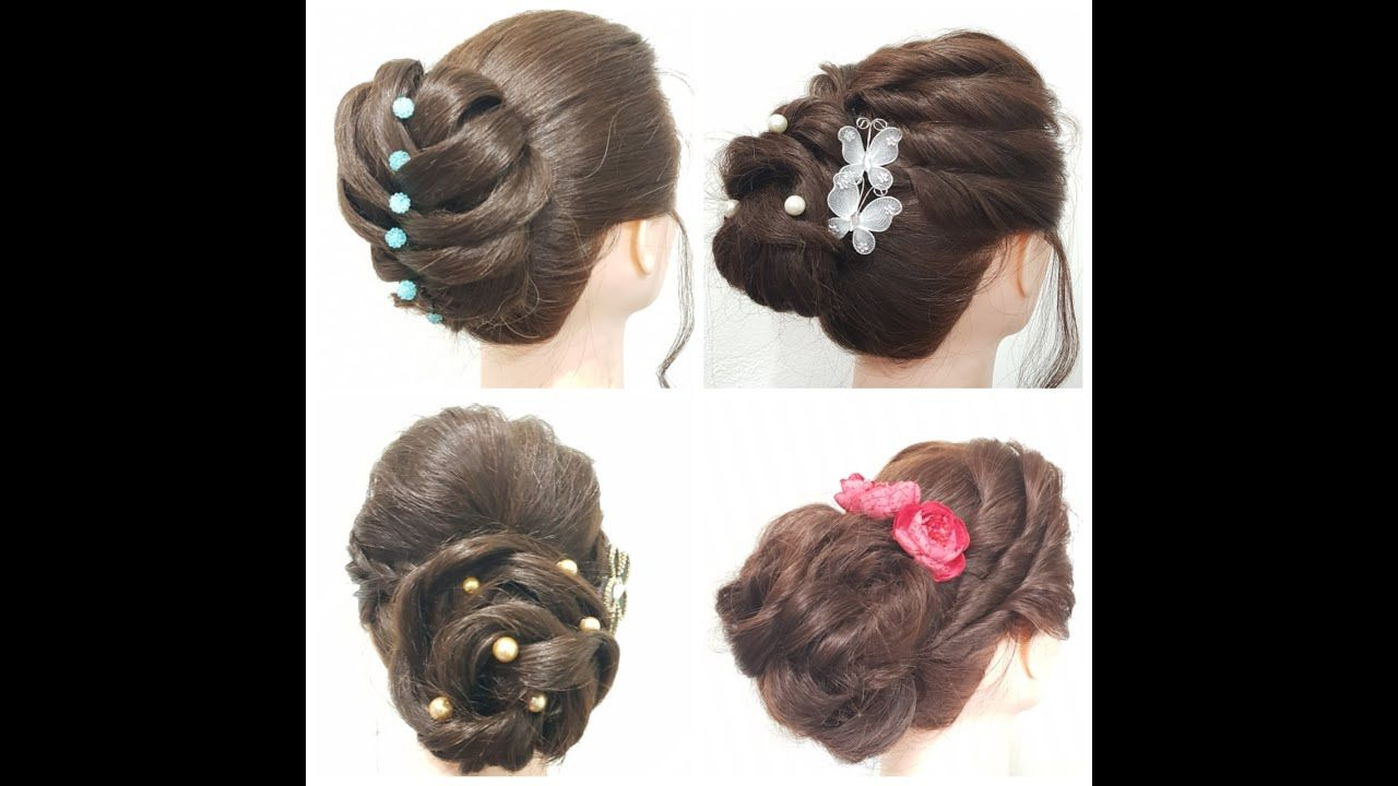 Easy Open Hair Hairstyle | Quick Braided Hairstyle For ...