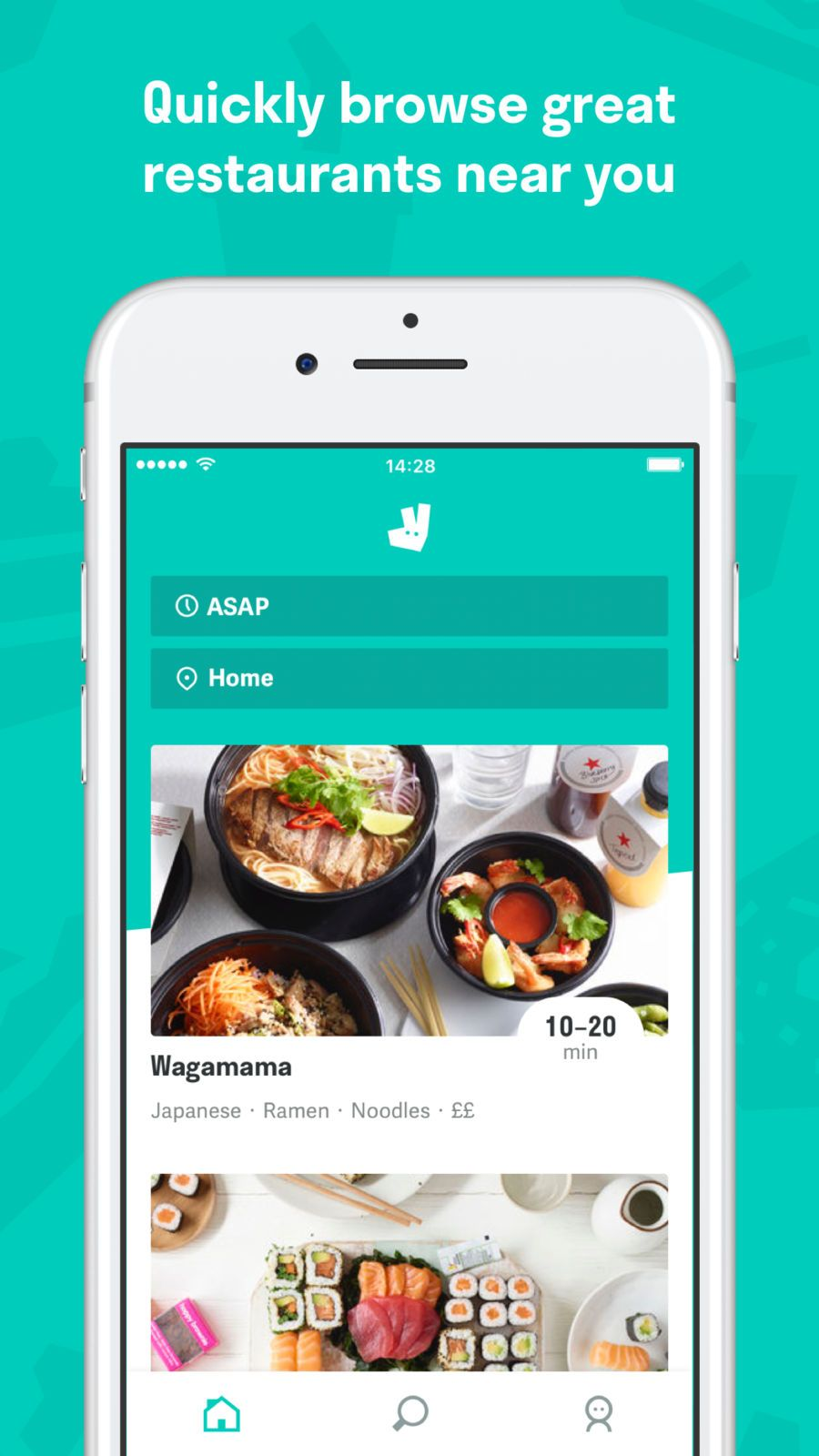 Deliveroo Food delivery LifestyleDrinkappsios Food
