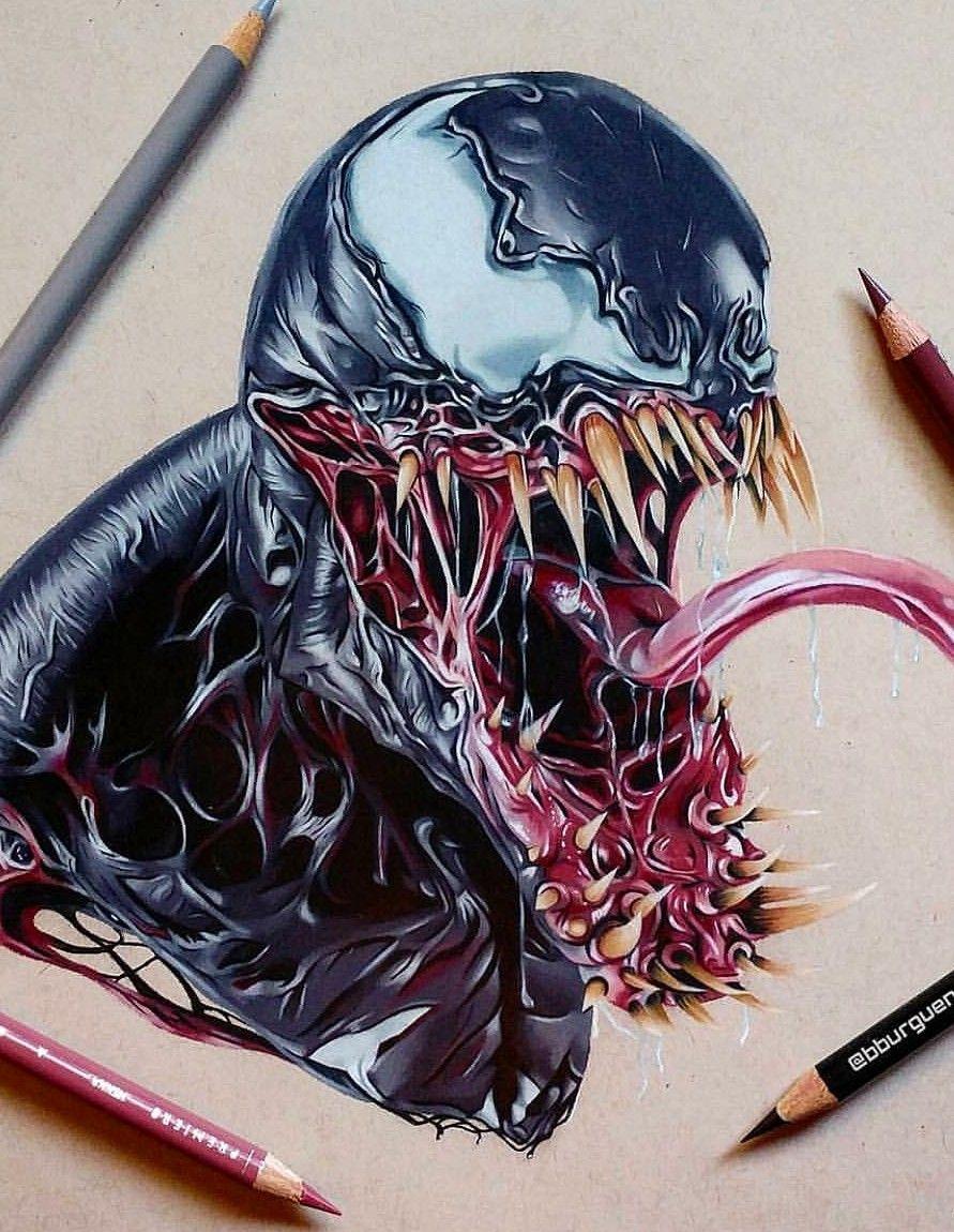 S pulcreux miss peregrine et les enfants particuliers dessins marvel dessin feerique et art - Coloriage venom ...
