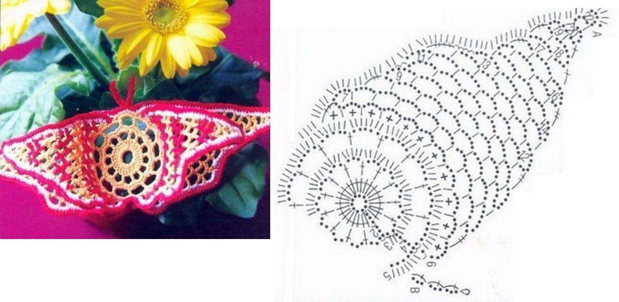 Crochet | Crochet - Butterflu | Pinterest | Crochet