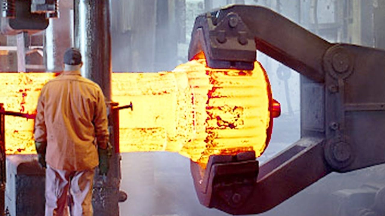 Industrial Forging Hypnotic Video Inside Extreme Forging Factory Kihlbergs Stal Ab