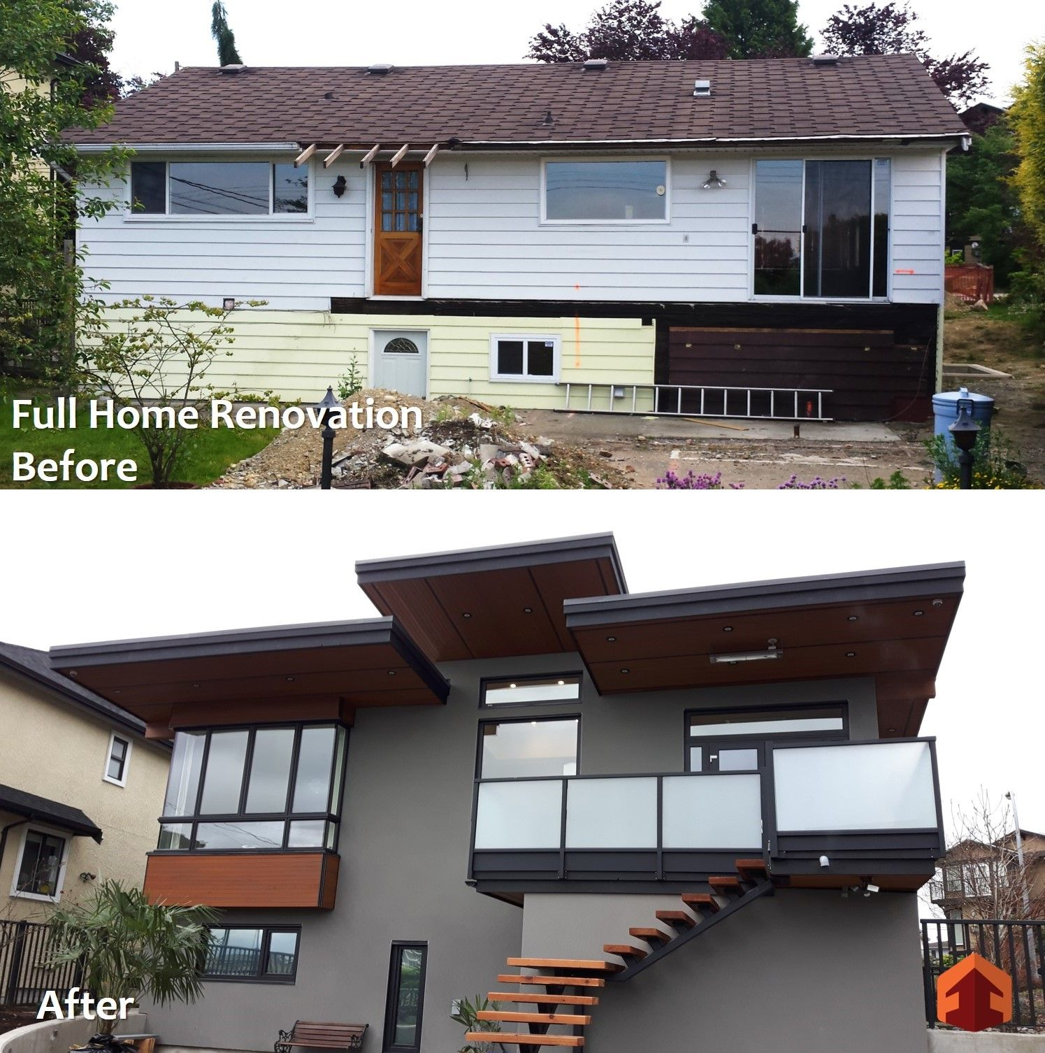 Full Home Renovation Before And After