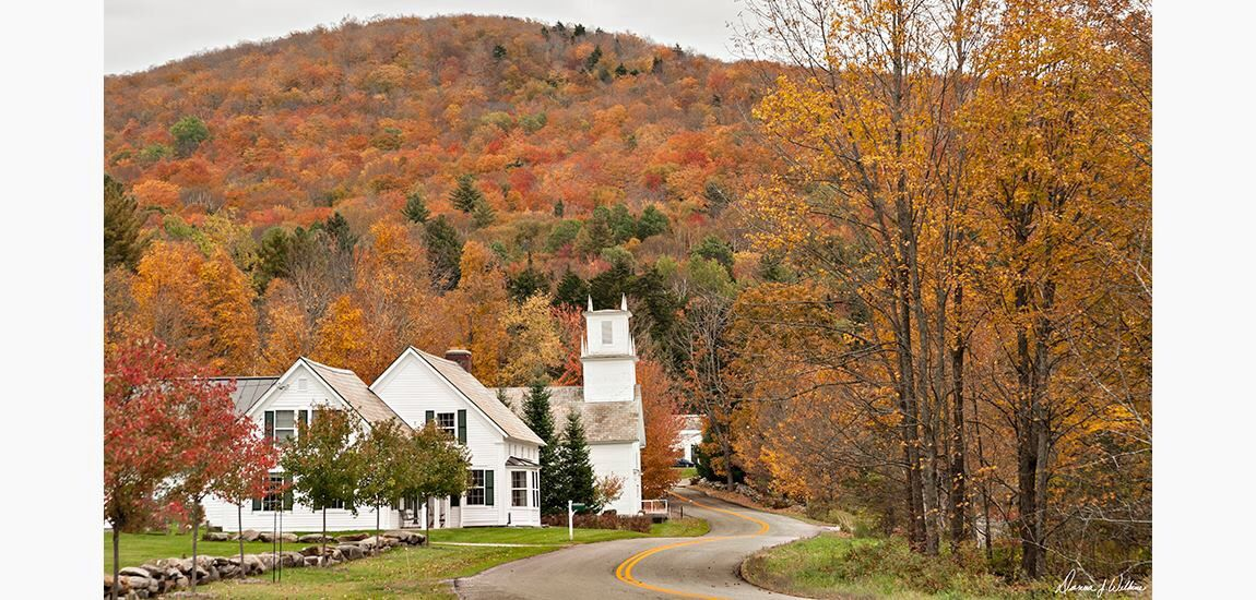 Vermont in the fall......love the colors of home.