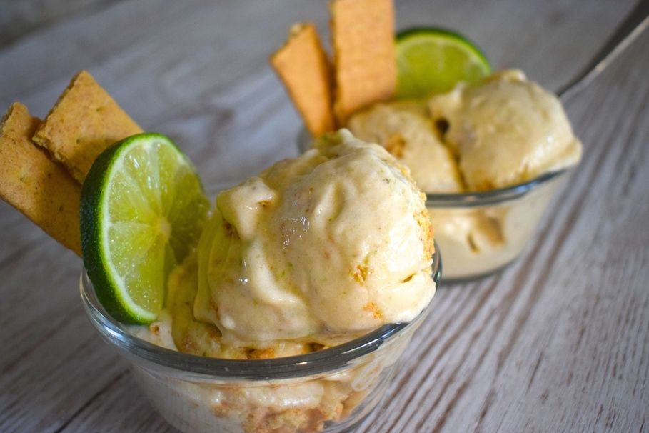This Vegan Key Lime Pie Nice Cream Tastes Just a Little ...