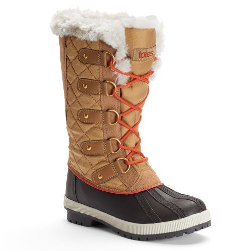 3bcfbb039bc totes Gracie Women's Quilted Waterproof Winter Duck Boots | Ideas ...