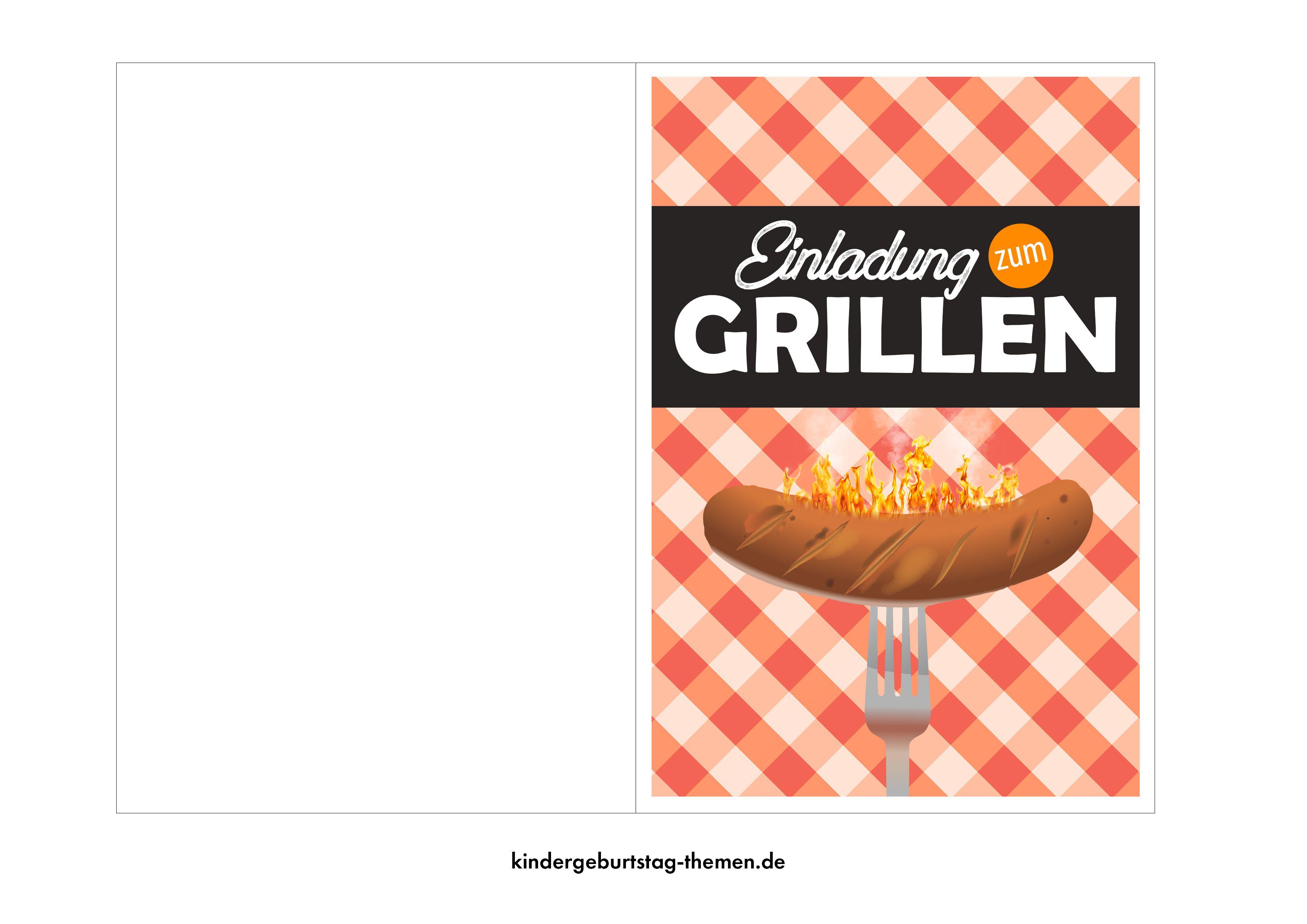 Grillparty Einladungen Zum Kostenlosen Herunterladen Bbq Party Einladungen Und Einladung Geburtstag