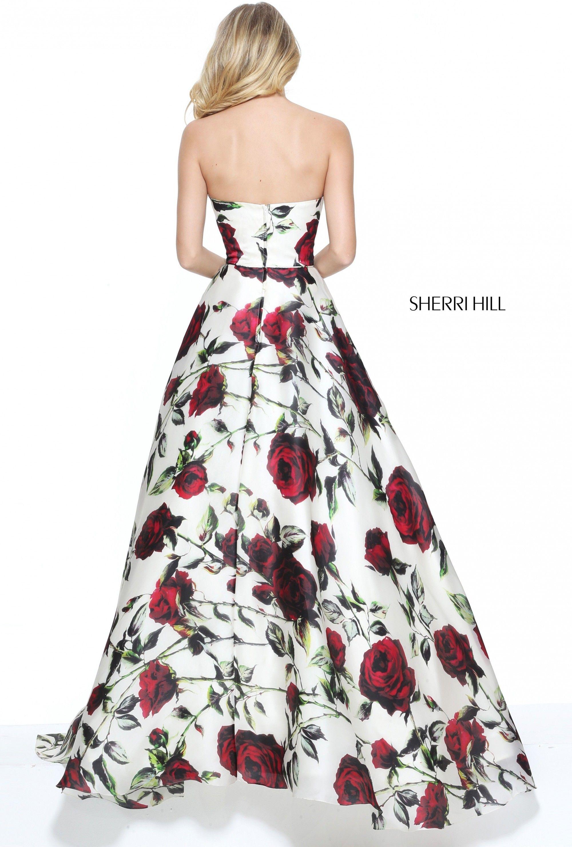 Sherri Hill 50826 Prom Dress. #sherrihill #promdress #prom