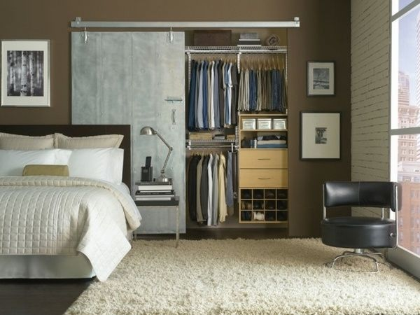 bachelor bedroom furniture. Modern Bachelor Bedroom Furniture Ideas Closet Organizers Barn Door