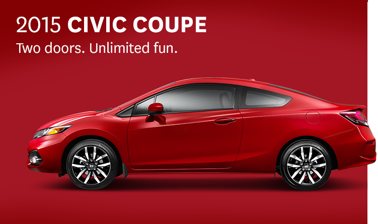 2015 Honda Civic Coupe Ex L Off My List Today 4 16 15 Civic Coupe Civic Civic Sedan